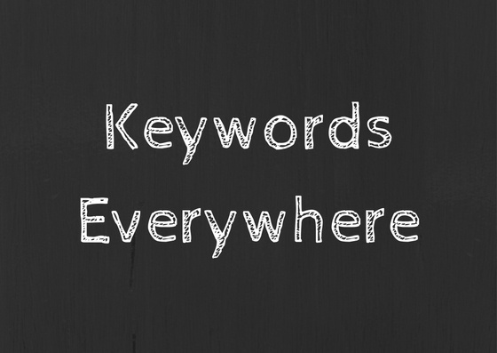 Keyword Tool – Keywords Everywhere